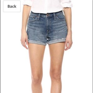 JCrew Indigo Denim Shorts